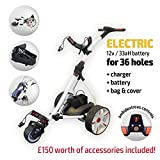 Electric Golf Trolley (Red & White)