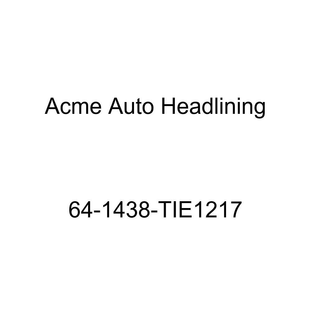 Acme Auto Headlining 64-1438-TIE1217 Ginger Replacement Headliner Chevrolet Chevy II 4 Door Wagon 8 Bow