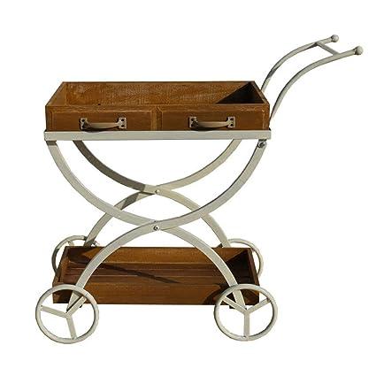 Amazon.com: CSQ Soporte de madera maciza de metal para ...