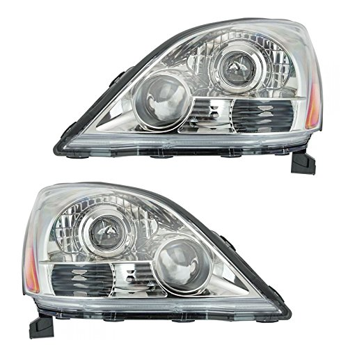 Headlight Headlamp LH and RH Pair Set for 2 for 03-09 Lexus GX470 Sport - Headlamp Headlight Rh