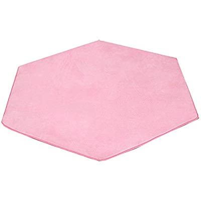 Gaier Rug Area for Kids Play Mat Carpet Rug Coral Play Mat for Princess Tent (Thickness 0.6CM): Kitchen & Dining [5Bkhe1005186]