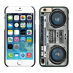 Iphone 6 Plus Case 5.5 Inches, Diy Boombox Designs Black Phone Protective Cover Case for Apple Iphone 6 Plus