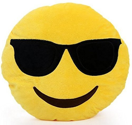Sungalsses Emoji Pillow