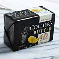 Colliers Welsh Butter with Sea Salt (8 ounce)
