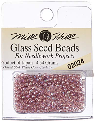 Mill Hill Glass Seed Beads, Heather Mauve