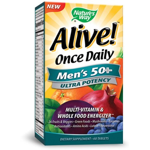 Nature's Way Alive Once Daily Men's 50+ Ultra Potency Tablets, - Stores Orchard At The