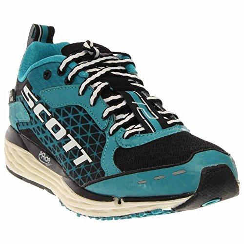 Scott Eride Support - Scott 2015 Women's T2 Palani HS Running Shoe - 237811 (black/turquoise blue - 11)