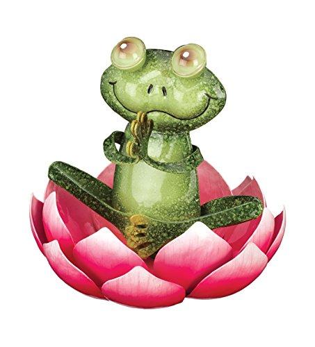 Regal Art & Gift Namaste Frog Decor (Metal Art Frog)