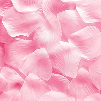 Amazing 1000pcs Light Pink Silk Rose Flower Petals Wedding Table Scaters Confetti  Favor Bridal Party Decoration Good Ideas