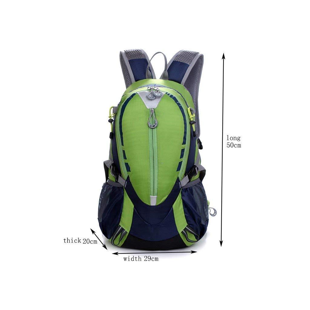 Vert  MTG Sac à dos en plein air pour hommes et femmes Alpinisme Sac de voyage Ensemble de voyage Léger et pratique Beau en apparence Sauvage,Jaune