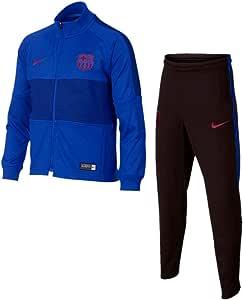 Chandal FC Barcelona Strike Azul NIÑO Temp. 2019/20-6 AÑOS: Amazon ...