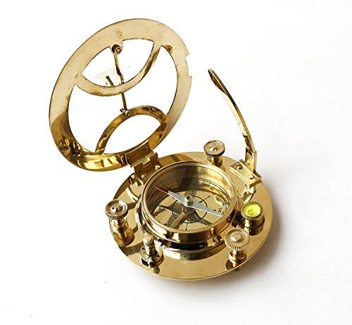 Collectibles Buy Nautical Brass Sun Dial Compass 4