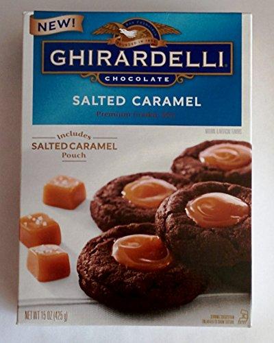 Ghirardelli Chocolate Salted Caramel Premium Cookie Mix