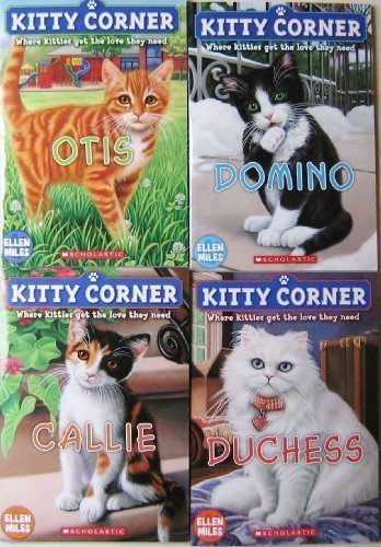 Kitty Corner 4 Book Set, Callie, Otis, Duchess and Domino (Kitty Corner Series)