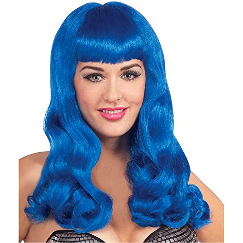 Sherry Berry Wig Costume (Sherry Berry Blue Wig)