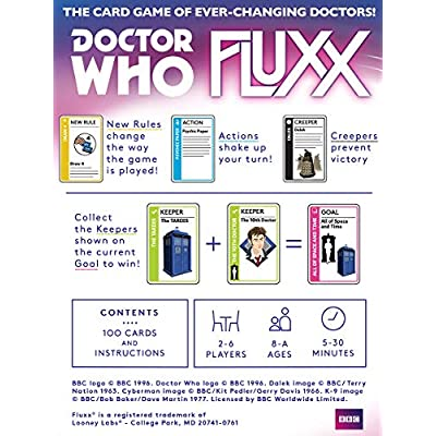Looney Labs Doctor Who Fluxx: Toys & Games
