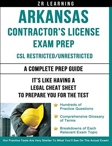 Arkansas Contractor's License Exam Prep