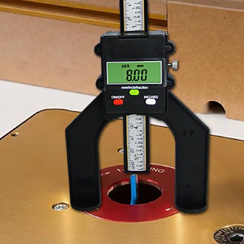 Digital Tread Depth Gauge Magnetic Self Standing Aperture 80mm Hand Routers by Gain Express by Gain Express (Image #3)