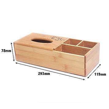 Kleenex - Caja presupuesto mesa de madera Top de caja, Salón de cama, Papel de caja, G: Amazon.es: Hogar