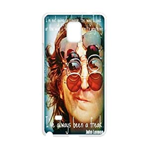 LSQDIY(R) John Lennon Samsung Galaxy Note 4 Plastic Case, Personalised Samsung Galaxy Note 4 Case John Lennon