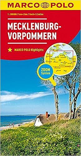 Karte Mv Kostenlos.Marco Polo Karte Deutschland Blatt 2 Mecklenburg Vorpommern