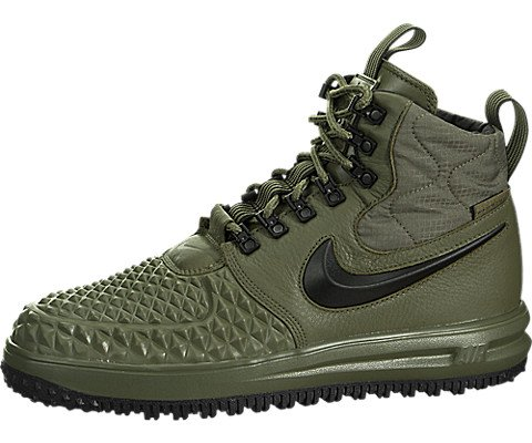Nike Mens Lunar Force 1 Duckboot '17 Medium Oliveblack-wolf Grey 916682-202 Size 8