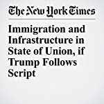 Immigration and Infrastructure in State of Union, if Trump Follows Script | Michael D. Shear,Mark Landler