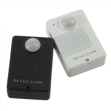 Alarma, Mini PIR Sensor de alerta Infrarrojo GSM Monitor de alarma inalámbrico Detección de movimiento Venta caliente Detector de movimiento antirrobo ...
