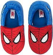 SPIKIDS Toddler Boys Girls Spider-Man Warm Plush Slippers