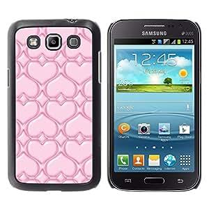 Be Good Phone Accessory // Dura Cáscara cubierta Protectora Caso Carcasa Funda de Protección para Samsung Galaxy Win I8550 I8552 Grand Quattro // Pink Love