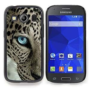 """Qstar Arte & diseño plástico duro Fundas Cover Cubre Hard Case Cover para Samsung Galaxy Ace Style LTE/ G357 (Patrón Leopard Blue Eye Animal Intenso"""")"""