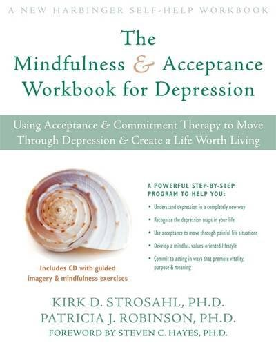 Mindfulness Acceptance Workbook Depression Commitment product image