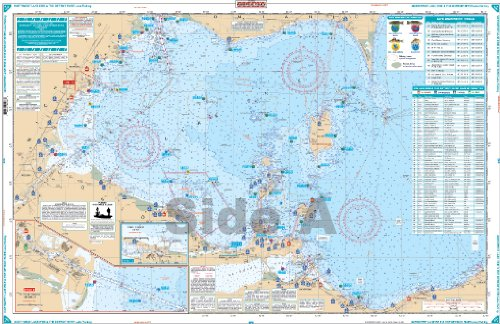 Waterproof Charts, Lake Fishing, 128F Northwest Lake Erie & The Detroit River (Best Kayak For Lake Erie)