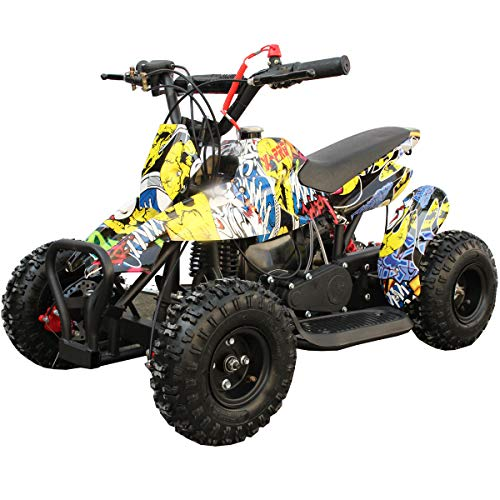 X-PRO 40cc Kids ATV 4 Wheelers 40cc ATV Quads Kids Quad,Hip-Hop