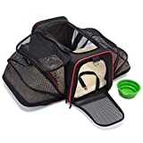 mypal Expandable Soft Pet Carrier, Airline Approved Carrier for Easy Carry On Luggage. for Small Dogs, Puppies, Cats, Kittens, and More! Review