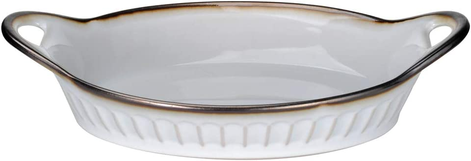 Ninepeak Baking Dish Lasagna Pan, Ceramic (14.5 Inch x 9 Inch)