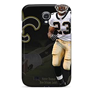 Slim Fit Tpu Protector Shock Absorbent Bumper New Orleans Saints Case For Galaxy S4