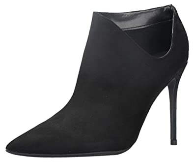 6f550a02ee4 Amazon.com   Bigtree Womens Ankle Booties Cut Out Slip-on Pointed ...