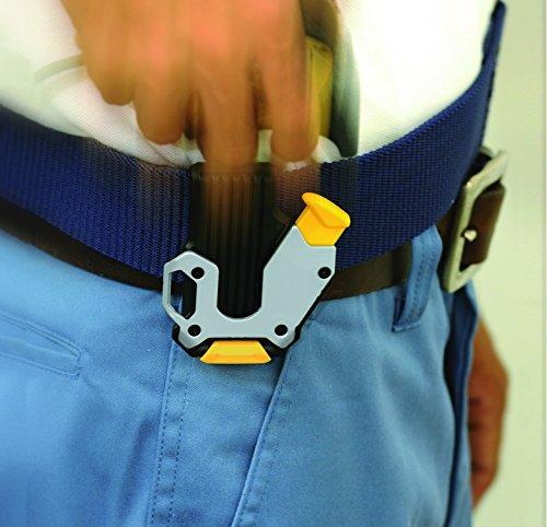 KDS SH-01 Locking Belt Clip for Measuring Tapes, Black/Silver by KDS (Image #3)