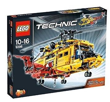 Technic L'hélicoptère Lego 9396 Jeu De Construction Y76gybvIf