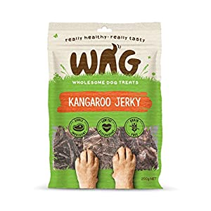 Kangaroo Jerky 200g, Grain Free Hypoallergenic Natural Australian Made Dog Treat Chew, & Breeds Click on image for further info.