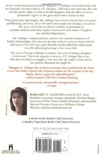 Dream Catcher A Memoir Amazonde Margaret A Salinger Mesmerizing Dream Catcher Memoir