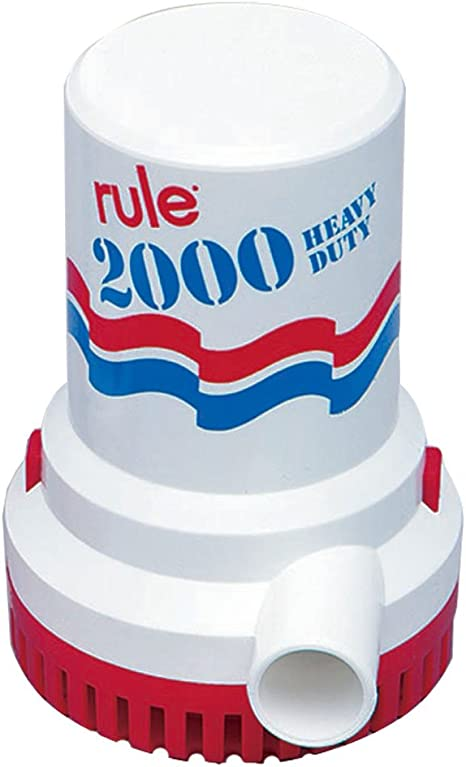 24V SEAFLO Marine Bilge//Sump Pump 2000GPH Unlike Rule 4 Year Warranty!!!