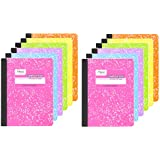 ​Mead Composition Book, College Ruled  Notebook, 100 sheets (200 Pages), Pastel Color Notebooks, 12 Pack​