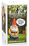 NPW Novelty Funny Garden Gnome - Nibble My Bits Bird Feed