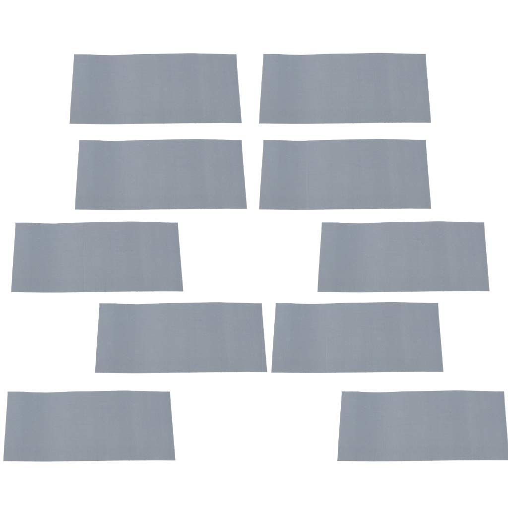 T TOOYFUL 10x Nylon Repair Self-Adhesive Patch For Camping Tents Ground Cloth Cushion