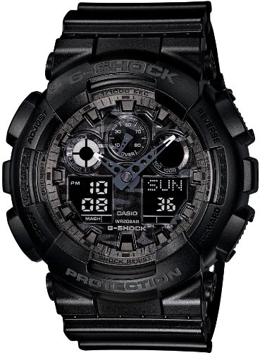 Used, CASIO G-SHOCK CAMOUFLAGE DIAL SERIES (GA-100CF-1AJF) for sale  Delivered anywhere in USA