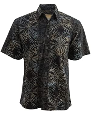 Island Fever Tropical Cotton Shirt By Johari West