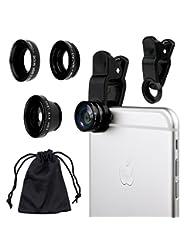Camkix Universal 3 in 1 Cell Phone Camera Lens Kit - Fish Eye...