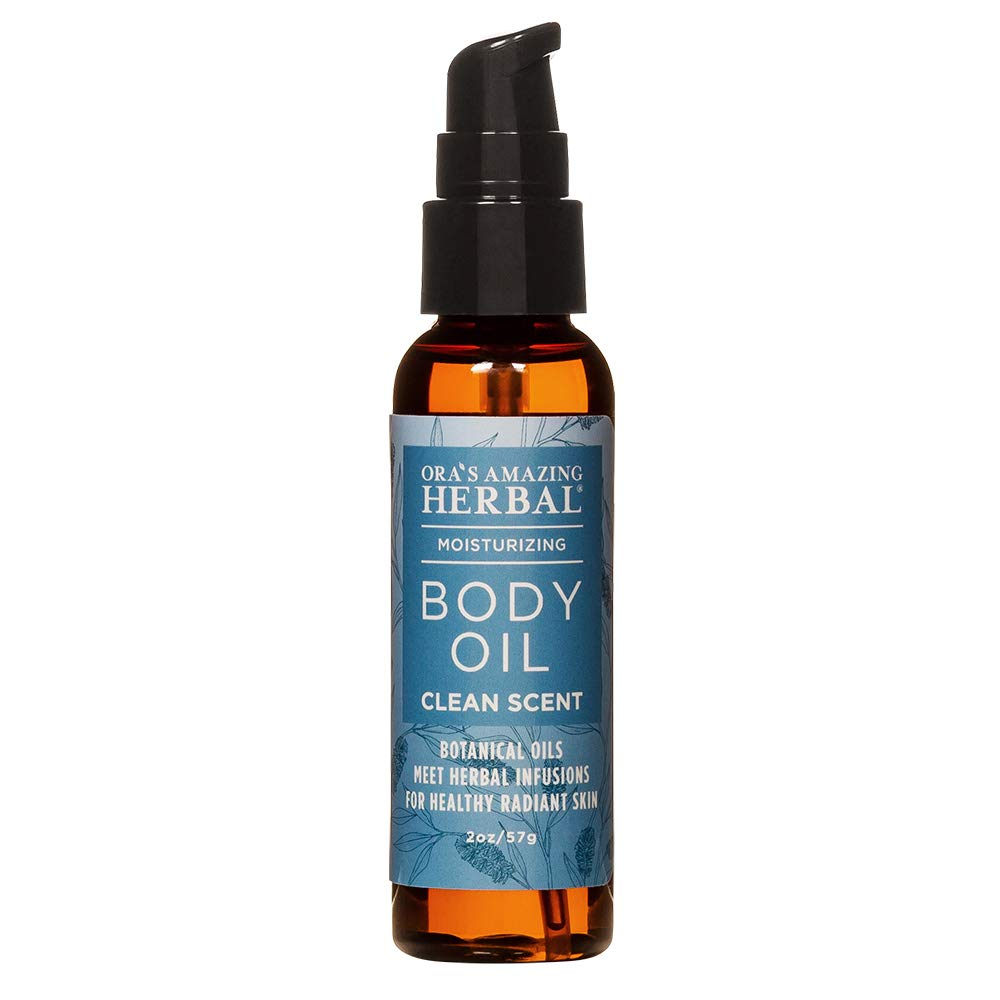 Vegan, Natural Body Oil for Dry Skin and Massage for All Skin Types, Paraben Free Body Oil with Aromatherapy Essential Oils, Clean Skin Care, Light Moisturizer Oil, Travel Size Body Oil, Women And Men
